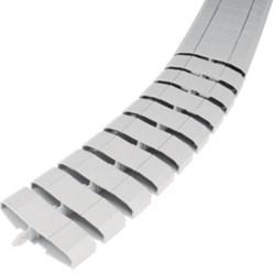Floor Lane flexibel, 20x83 mm, lengte 1 m, lichtgrijs