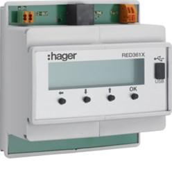 Interface voor 2-draads-systeem naar analoge telefonie, DIN-rail